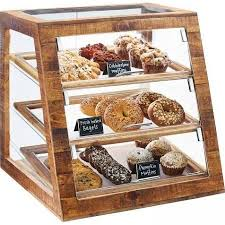 countertop pastry display case perfect wood countertops