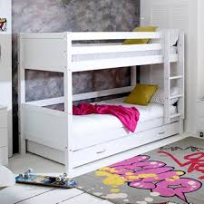 bunk beds for girls. Fine Bunk Flexa Nordic Kids Bunk Bed 3 In White Throughout Beds For Girls N