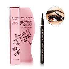 Turelifes Tattoo Eyebrow Pen Lasting Waterproof Brow Pencil Eyes Makeup Light Brown