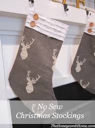 sew christmas stocking.  Christmas Intended Sew Christmas Stocking