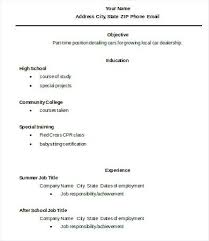 High School Graduate Resume Templates – Eukutak