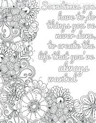 Over 40 free inspirational quotes colouring pages for adults and kids. Quote Coloring Pages Idea Basecampatx