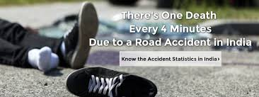 Road Safety Chart In India Road Accident Statistics In India