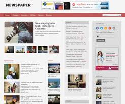 Newspaper Template No Download Blog Newspaper Template Zlatan Fontanacountryinn Com