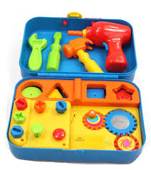 Amazon.com: Kidoozie Cool Toys Tool Set - Includes Audio Responses to  Encourage Learning - Ages 18 Months and Up: Toys & Games
