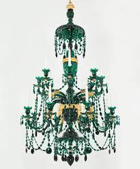 52157 green chandelier