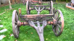 Small Picture Old Western Wagons Running Gear for Sale for a Sheepwagon YouTube