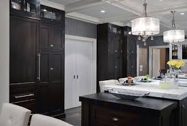 Wenge Wood Kitchen Cabinets Custom Wood Countertops In A Kitchen Designed By Showcase Kitchens