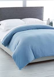 calvin klein modern cotton full queen duvet cover ocean uni bed bath bedding