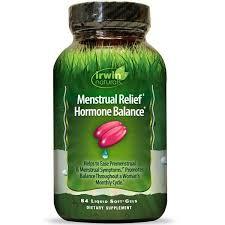 Irwin Naturals, <b>Menstrual Relief Hormone Balance</b>, 84 Liquid Soft ...