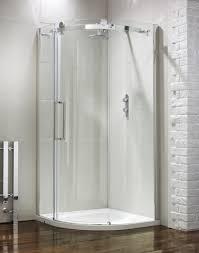 frontline aquaglass shower stall 900 x 900 1 door frameless quadrant shower enclosure with tray pics