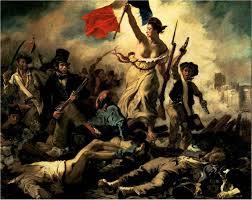 the theory of evolution the french revolution modern american delacroix liberty leading the people 1830