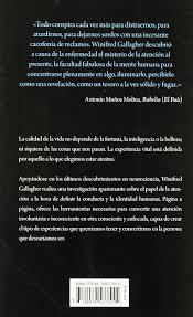 Atención plena: El poder de la concentración (Crecimiento personal)  (Spanish Edition): Gallagher, Winifred: 9788479537555: Amazon.com: Books