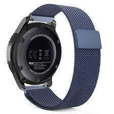 moto 360 2nd gen 46mm. moko gear s3 watch band, milanese loop stainless steel mesh smart strap for samsung moto 360 2nd gen 46mm