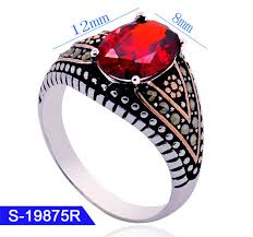 new model fashion custom jewelry 925 sterling silver mens rings for whole pictures photos