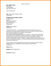 Address Format On Resume Formal Letter Address Format Letters Free Sample Letters 38