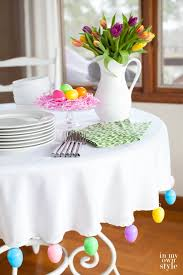 best 25 easter table settings ideas