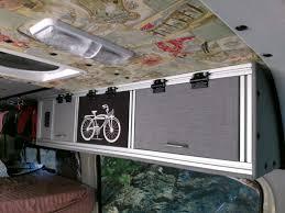 van kitchen campervan conversion kit home converted to cafe interior