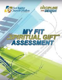 spiritual gift essment