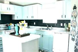 kitchen blue glass backsplash. White Kitchen Blue Backsplash  Glass .
