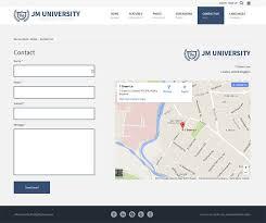 Jm University Joomla School Template With Wcag Ada Compliance