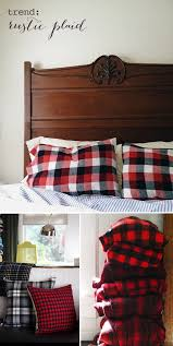 interior trend decorating with buffalo plaid lamps plus
