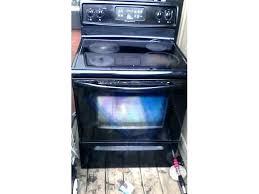 black frigidaire stove glass top stove replacement full image for black glass top stove black glass