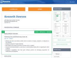 Builder Online Top 10 Free Online Resume Builders Icecream Tech Digest