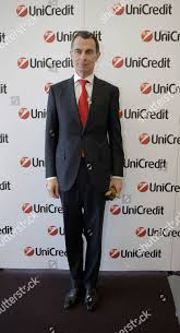 Unicredit Bank CEO Jean Pierre Mustier poses Editorial Stock Photo - Stock  Image