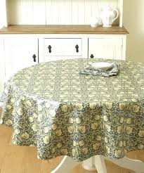 ikea round tablecloth the pimpernel cream fl pertaining to decor linen table cloths ikea round tablecloth