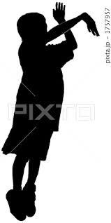 バスケ バスケットボール ミニバスケットボール 子供の写真素材 Pixta