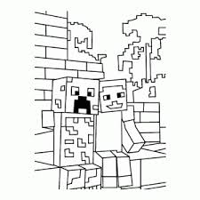 Minecraft Coloring Pages Leuk Voor Kids