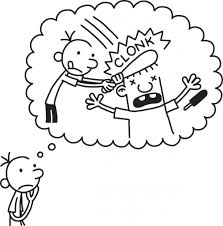 Small Picture Diary Of A Wimpy Kid Drawings Diary Of A Wimpy Kid Coloring Page