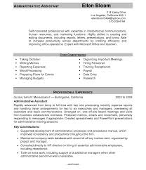 Medical Administrative Assistant Resume Sample Literarywondrousstrative Specialist Resume Assistant Midlevel 45