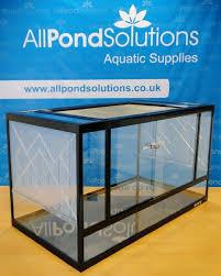 glass terrarium vivarium tank fully assembled komodo dragon