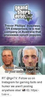 facts insram and makeup grand trevor phillips business tpi enterprises