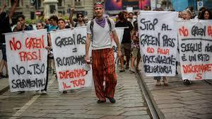 Ohne Impfnachweis kein Museum: Proteste gegen den Greenpass in Italien -  SWR2