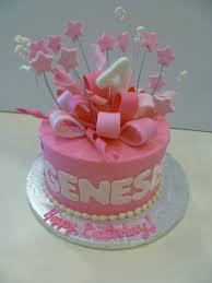 One Tier Birthday Cake Designs 7 1 Layer Birthday Cakes For Girls