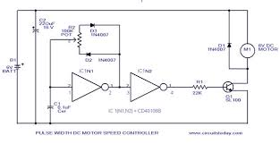 dc motor controller circuit diagram ireleast info pwm motor speed control circuit diagram for dc motor wiring circuit