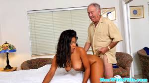 Porn ebony and old man