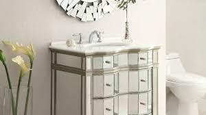 Interior Design For Adelina 30 Inch Mirrored Bathroom Vanity Cabinet Mirror  At ...