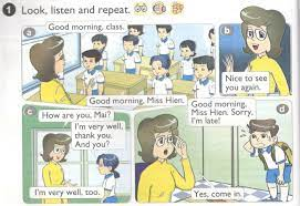 Tiếng Anh lớp 4 unit 1 - Nice to see you again - Siêu Sao Tiếng Anh