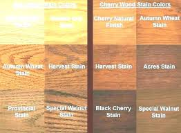 R Color Chart Maple Wood Stain Colors Liquid Stains Waja Info