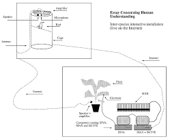 essay concerning human understanding eduardo kac art  image