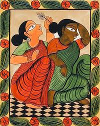 for a biography of montu chitrakar and his wife joba chitrakar read the recent article by indian folk art scholar minhazz majumdar