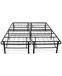 Sleep Trends Hercules Twin 14Inch Platform Metal Bed Frame Quick Ship  Created
