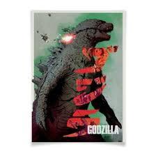 """Интерьерная печать с принтом """"godzilla"""" по низким ценам ..."""