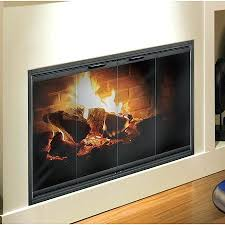 glass doors fireplace. pleasant hearth fireplace glass door thin line for zero clearance doors e
