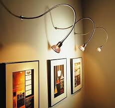 art gallery lighting tips. Add A Spark To Your Wall Art With Picture Lights Ideas 4 Homes Throughout Light Fixtures Decor Gallery Lighting Tips