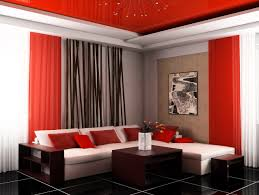 Tiles Design For Living Room Modern Living Room Black And Red Excited Home